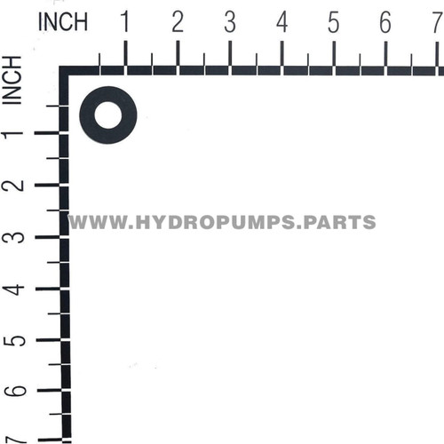 Hydro Gear 50132 - Washer .51 X 1.10 X .03 Flat - Image 2