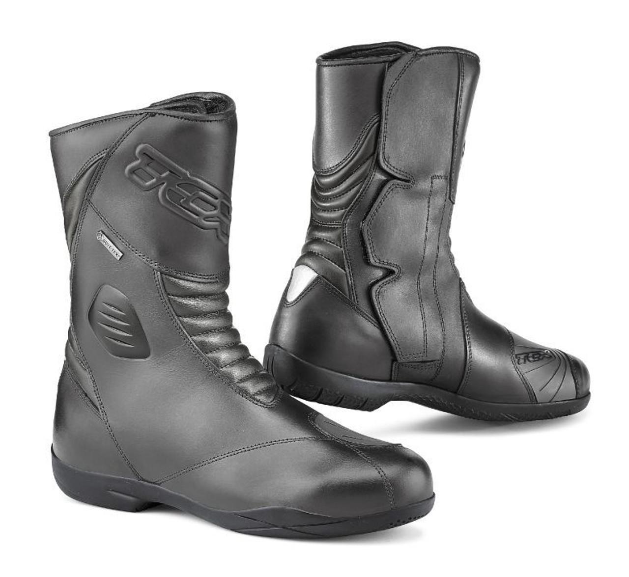 42 Black TCX Baja Gtx Mens Street Motorcycle Boots