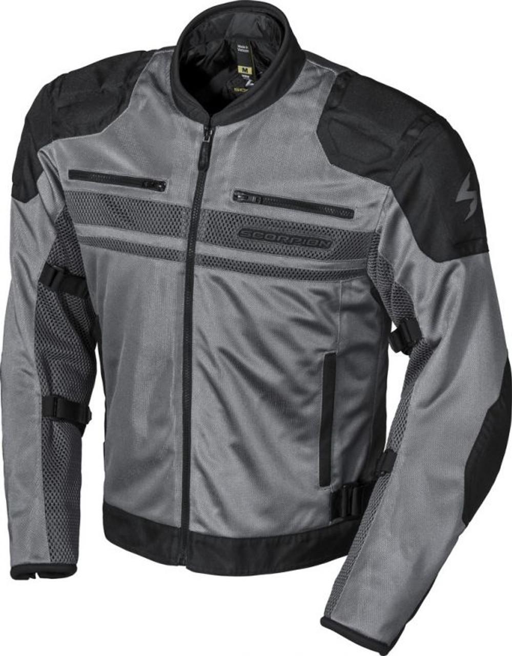 Oxford Spartan Mens Riding Jacket Black//Gray, 3X-Large