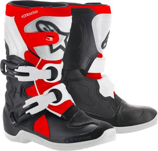 Alpinestars NEW Mx 2019 Tech 3S Black//White Kids Youth Motocross Dirt Bike Boots