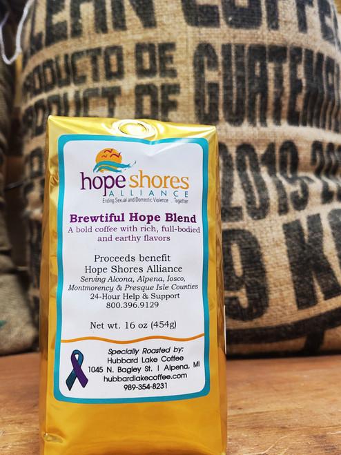 Cof-Brewtiful Hope Blend 16 oz