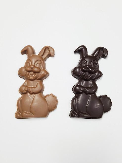 Solid Chocolate Bunny - Medium