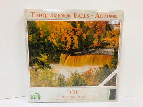 Tahquamenon Falls in Autumn Puzzle