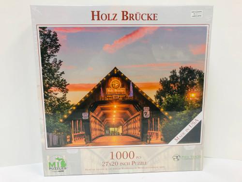 Holz Brucke Puzzle
