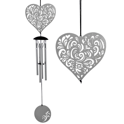 Flourish Heart Windchime