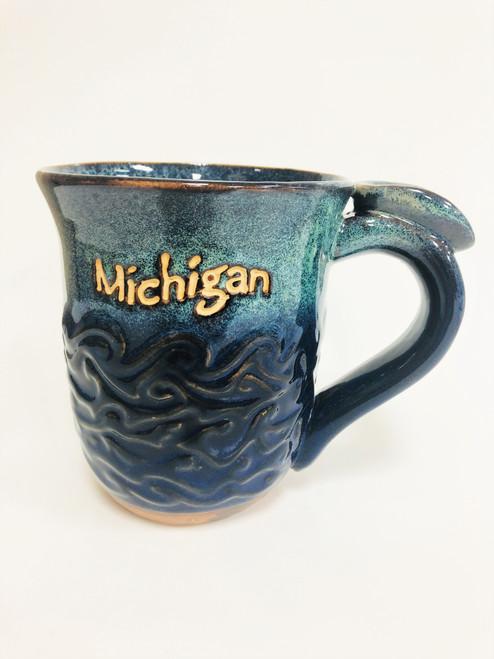 Blue Wave MI Mug