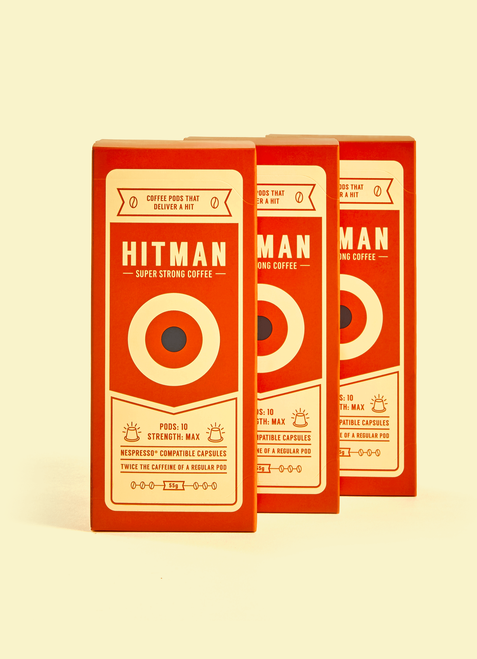 Hitman Coffee Nespresso Compatible ( 120 Pack )
