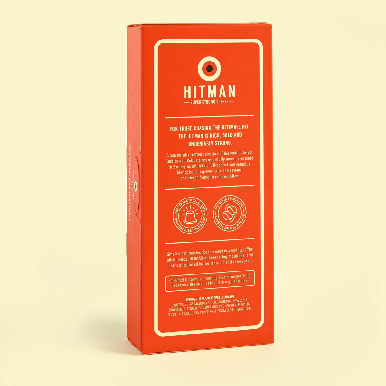 Hitman Coffee Nespresso Compatible ( 20 Pack )