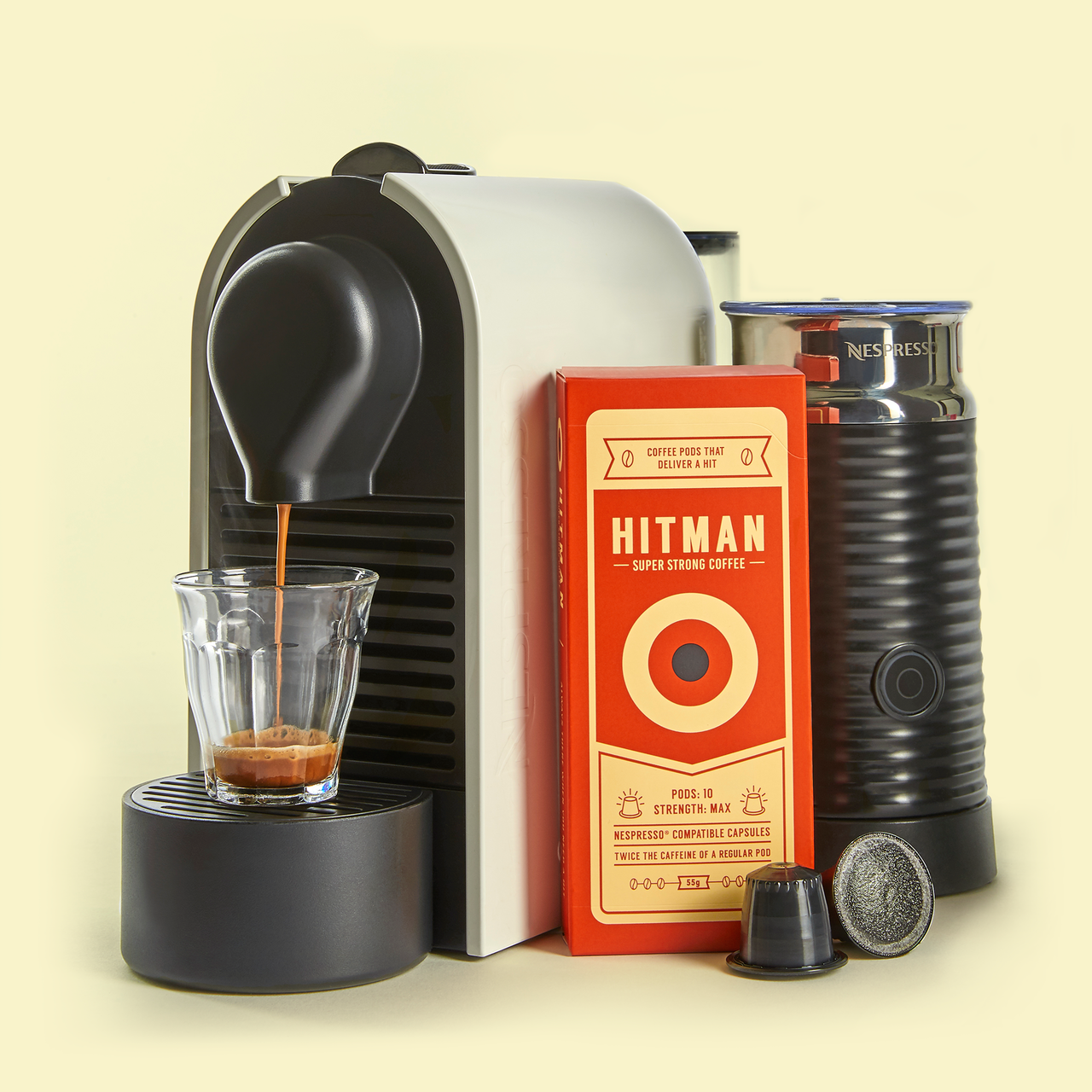 Hitman Coffee Nespresso Compatible ( 120 Pack )