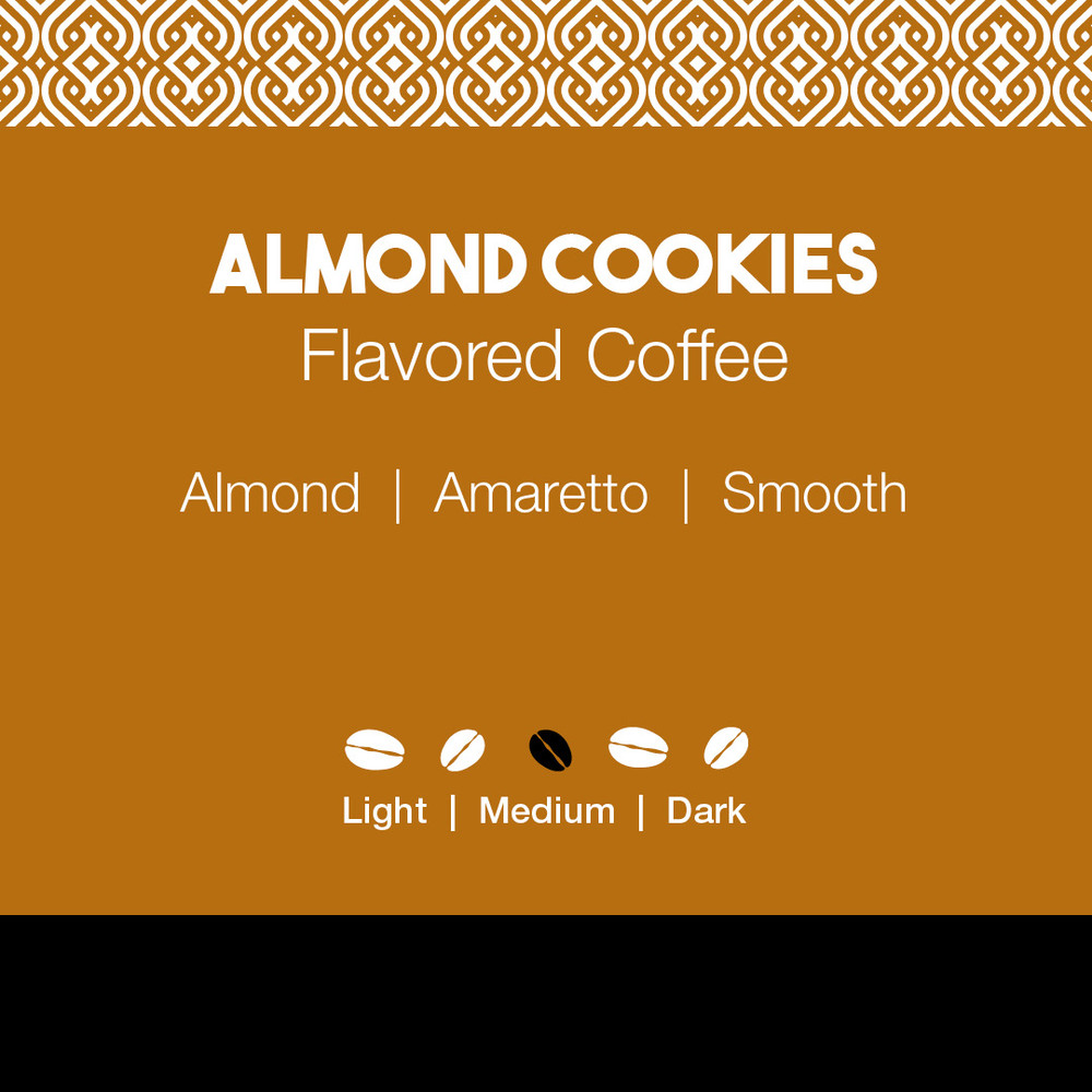 Almond Cookies Flavored Coffee