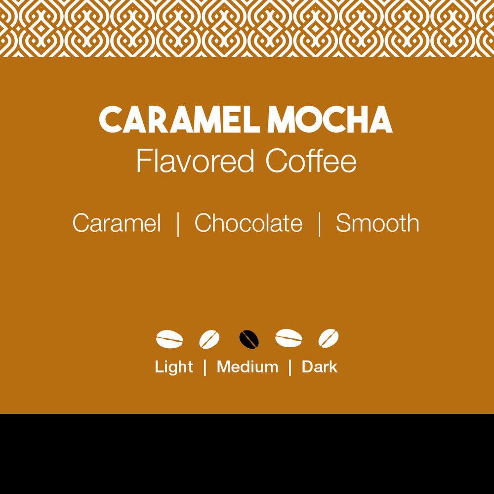 Caramel Mocha Flavored Coffee
