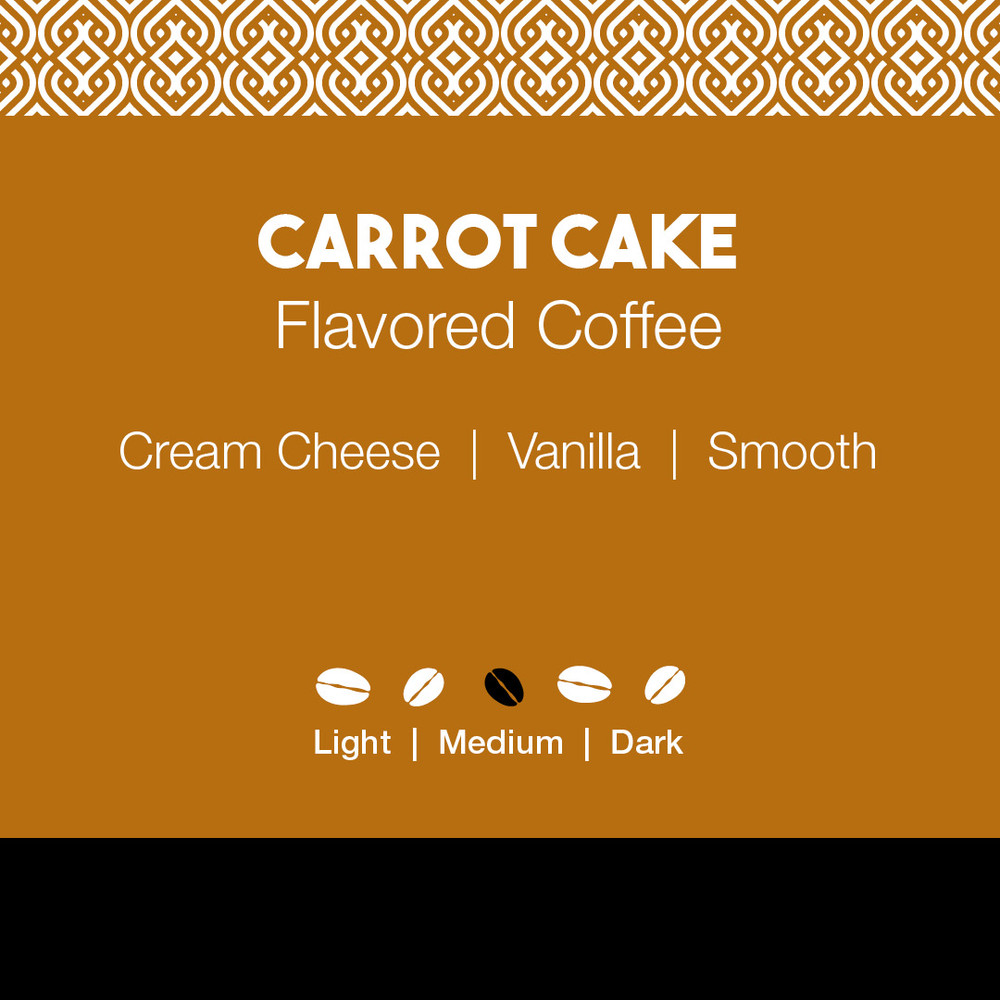 Carrot Cake Flavored Coffee