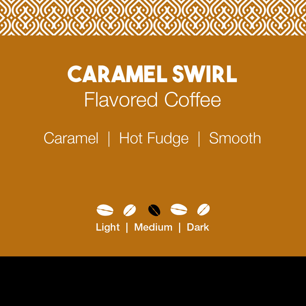 Caramel Swirl Flavored Coffee