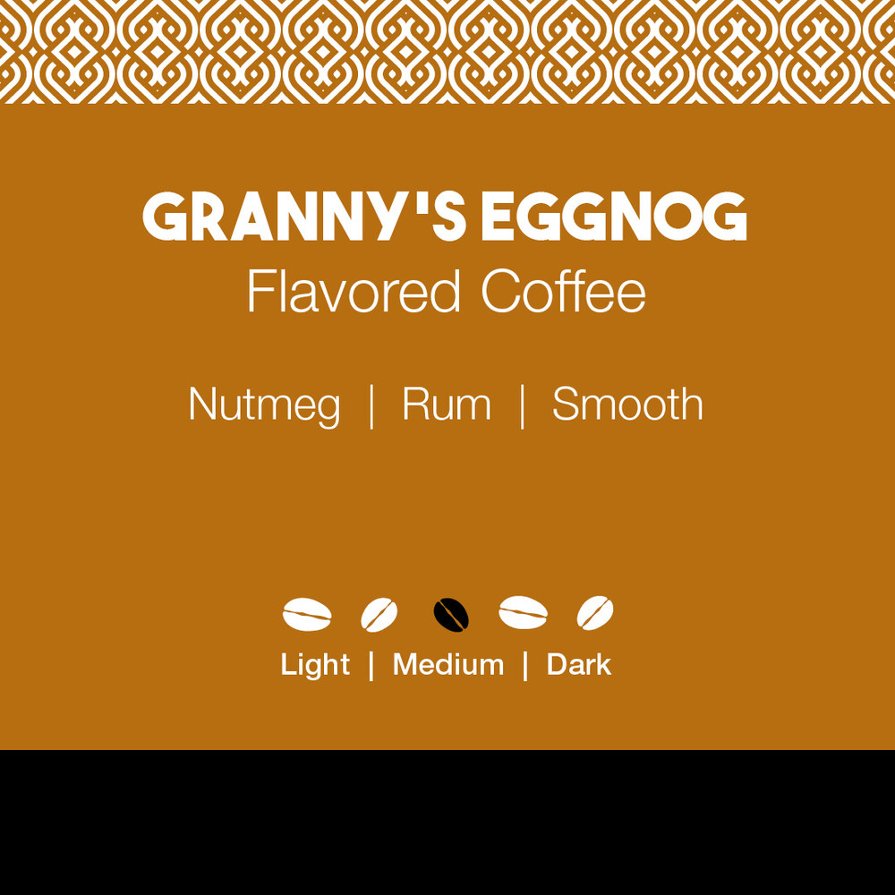 Granny's Eggnog Flavored Coffee