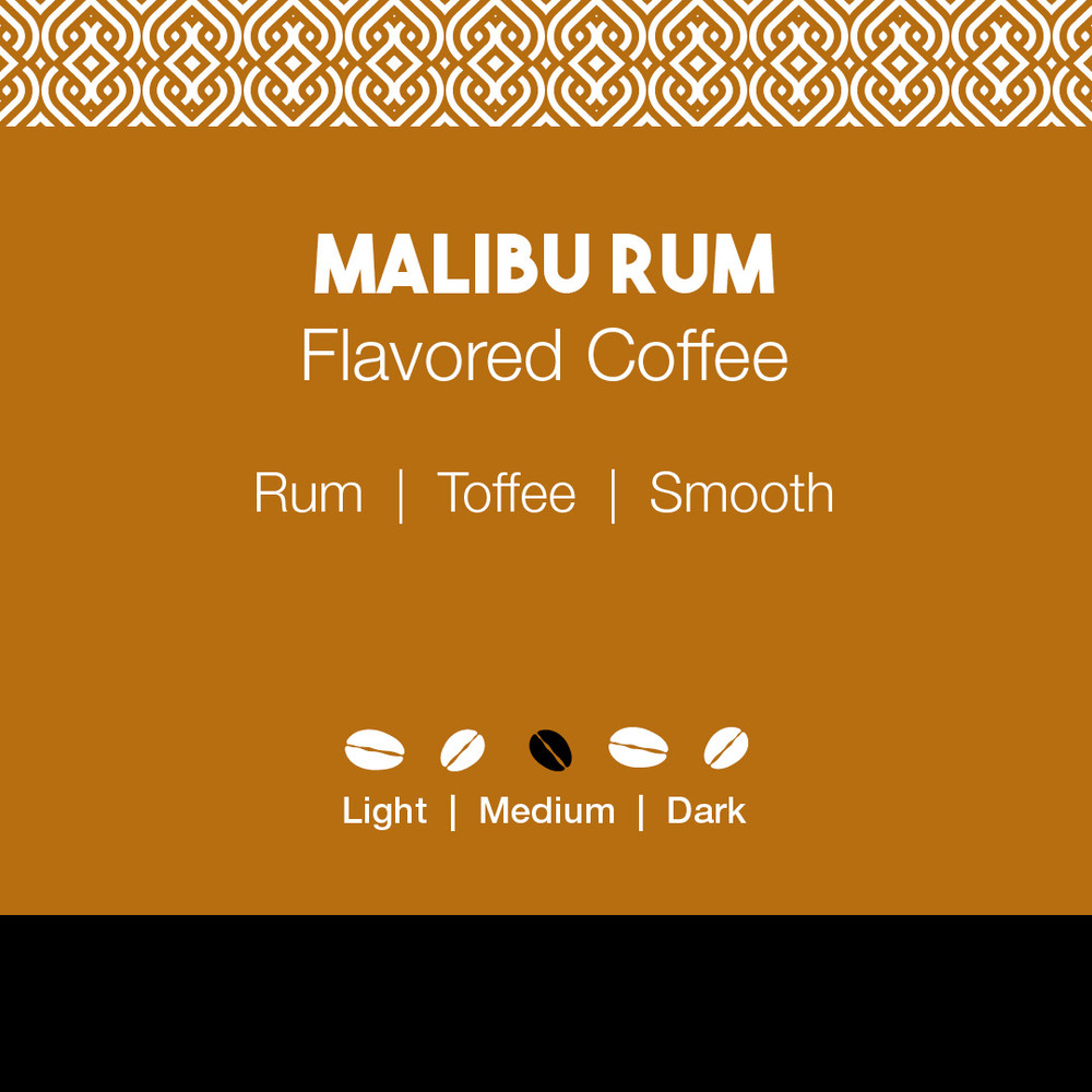 Malibu Rum Flavored Coffee