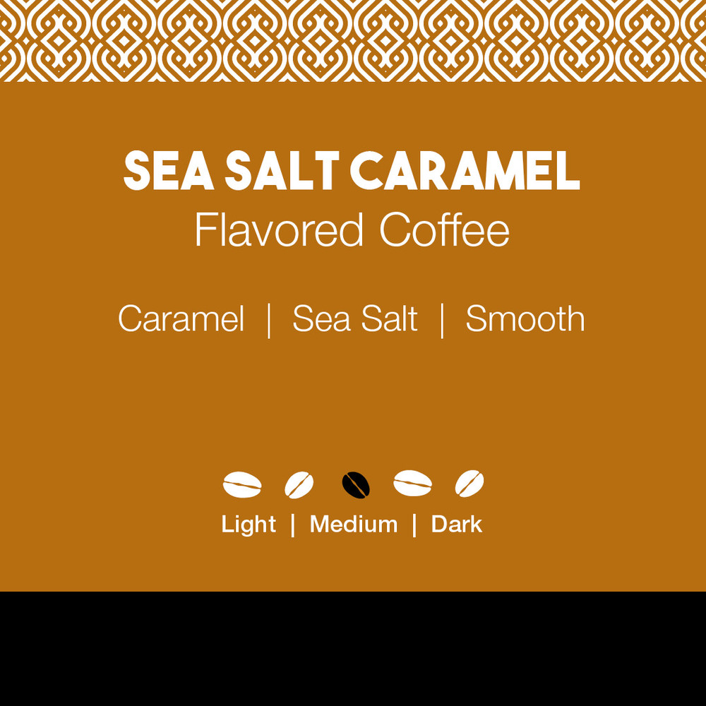 Sea Salt Caramel Flavored Coffee