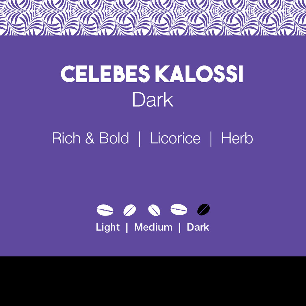 Celebes Kalossi Coffee Dark