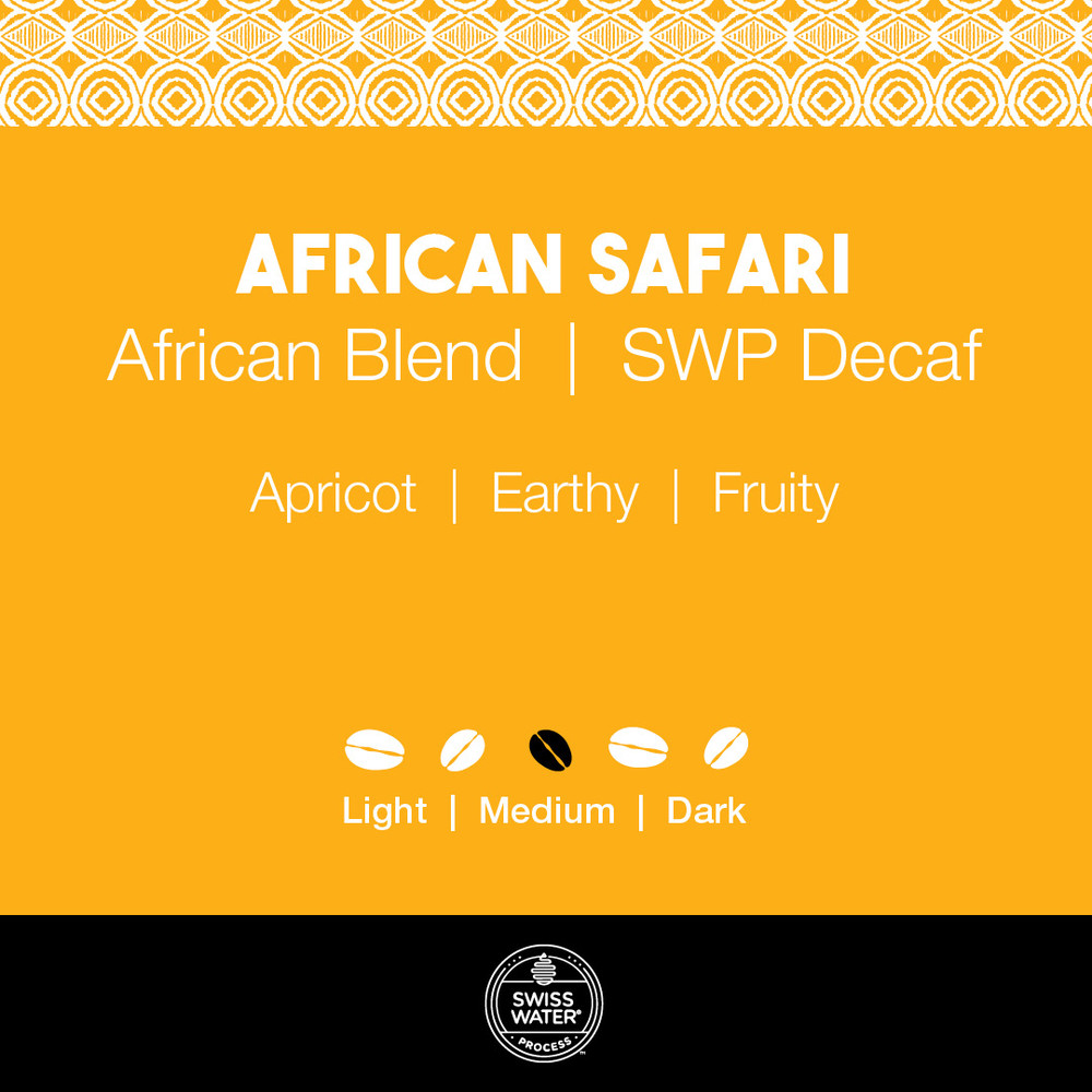 African Safari Coffee – SWP Decaf