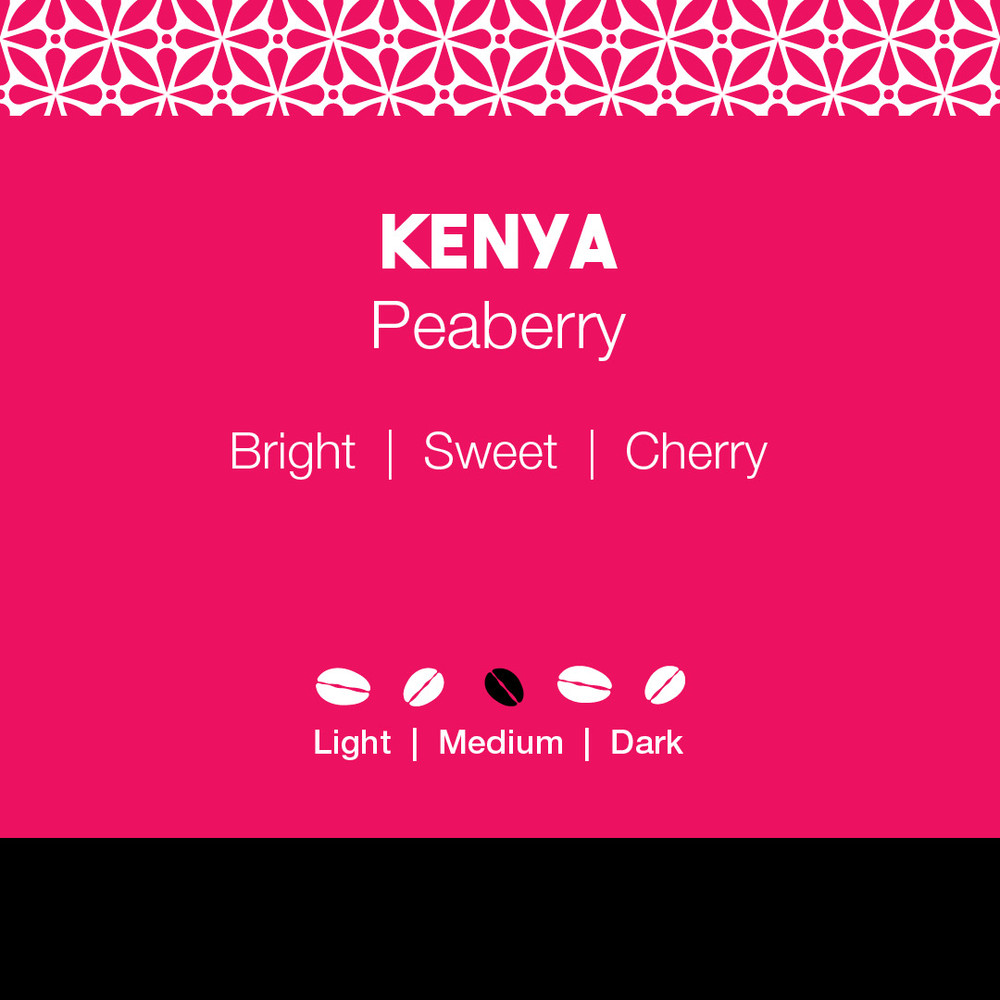 Kenya Peaberry Coffee