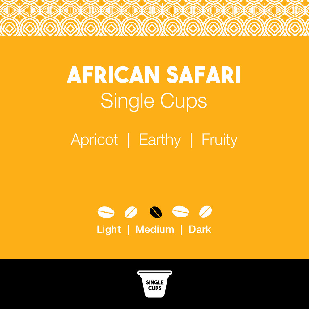 African Safari Coffee - Joe's Single Cups