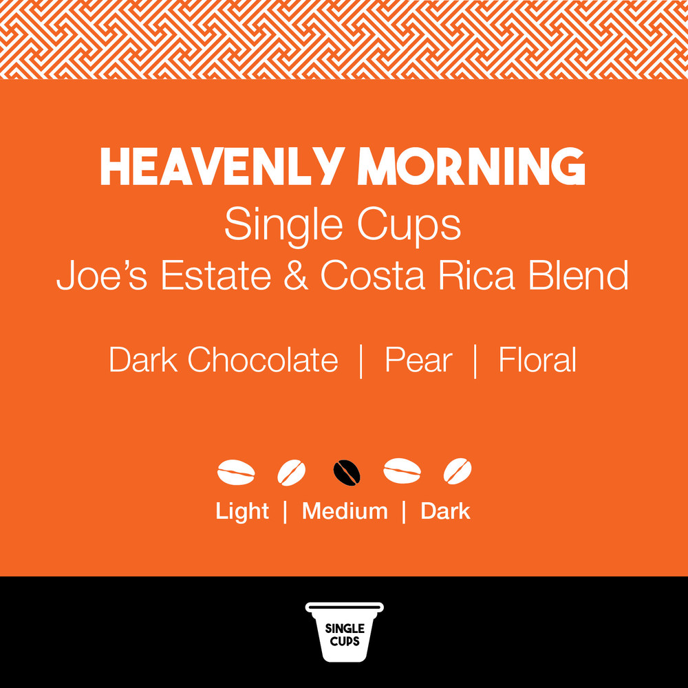 Heavenly Morning Coffee – Joe's Single Cup