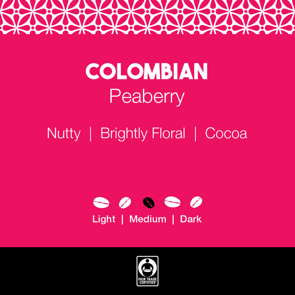 Colombian Peaberry Coffee