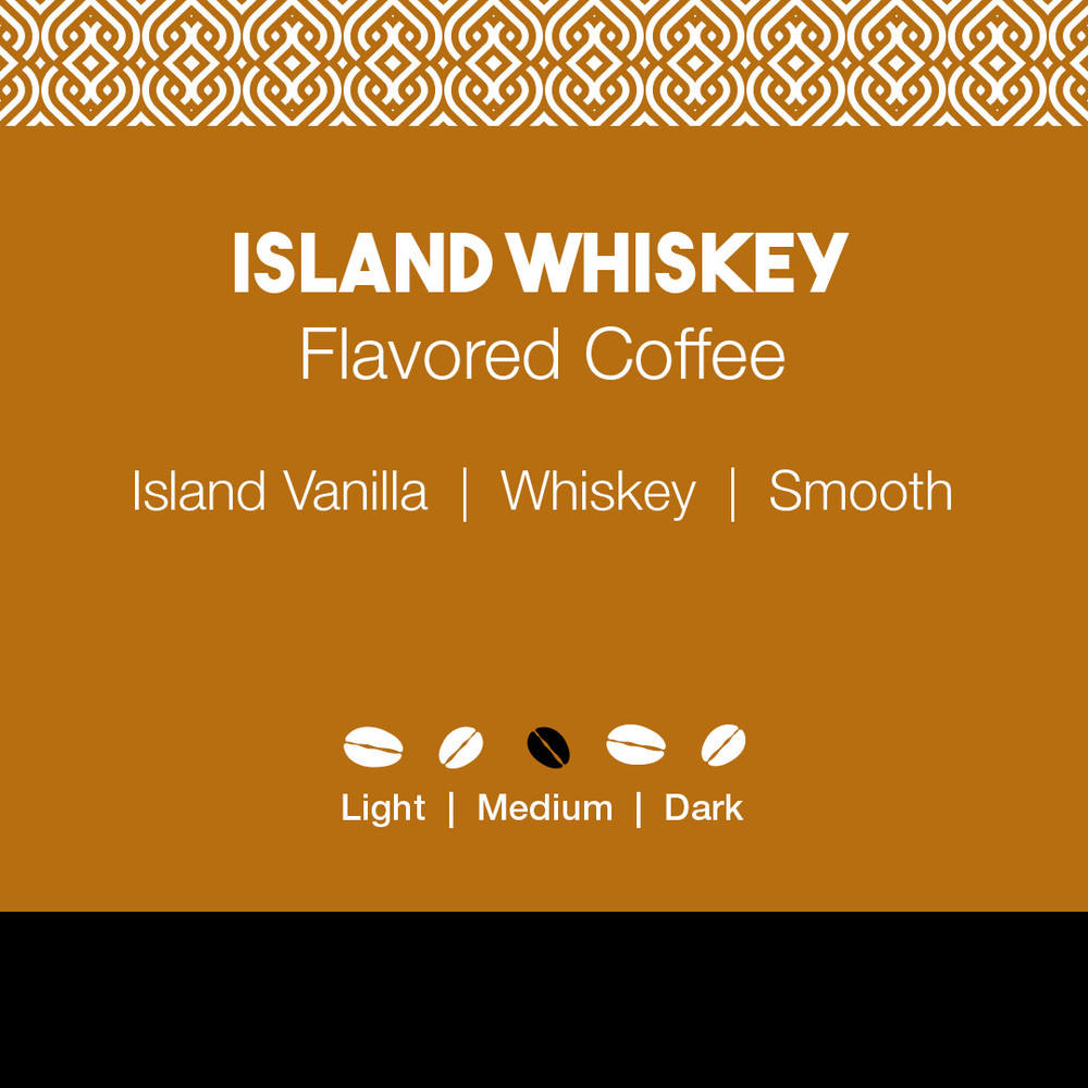 Island Whiskey  Flavored Coffee