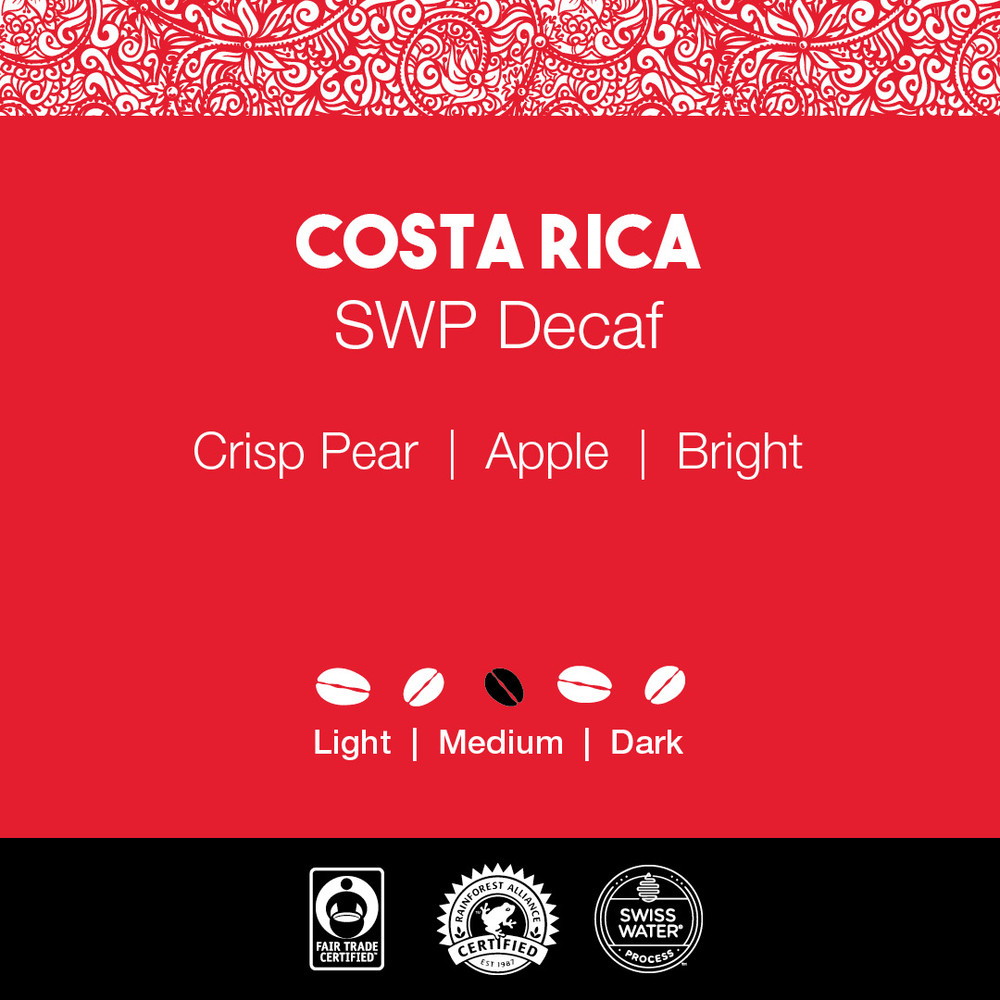 Costa Rica Coffee – SWP Decaf