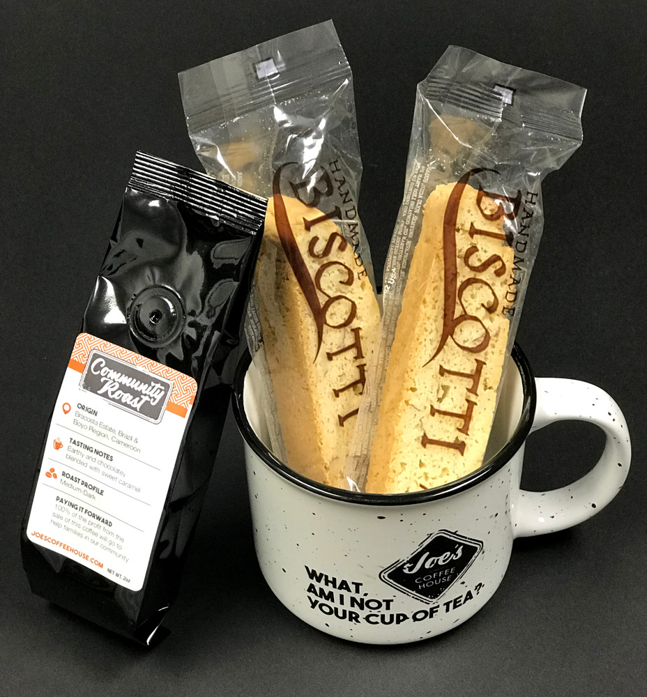 Joe's Cup, Biscotti and Community Roast