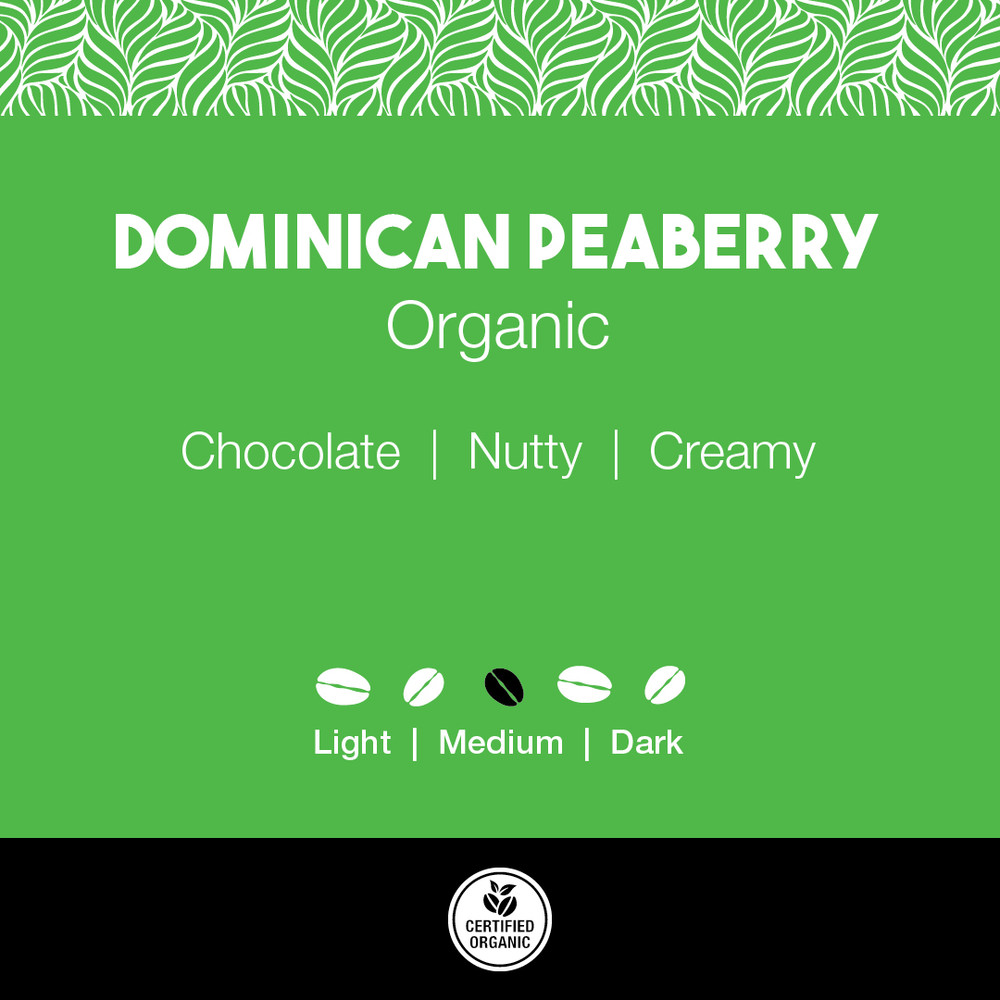 Dominican Peaberry Organic Coffee