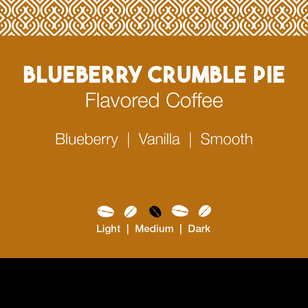 Blueberry Crumble Pie Flavored Coffee
