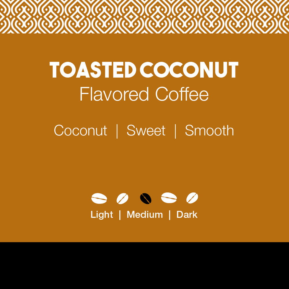 Toasted Coconut Flavored Coffee