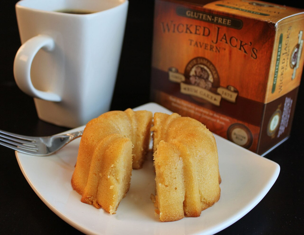 Wicked Jack's  Butter Rum Cake - serves 2