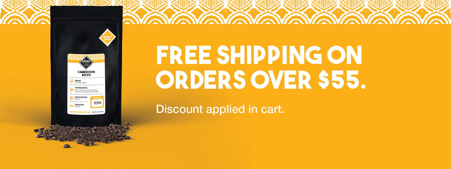 Free Shipping on order of $55 or more