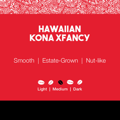 Hawaiian Kona XFancy Coffee