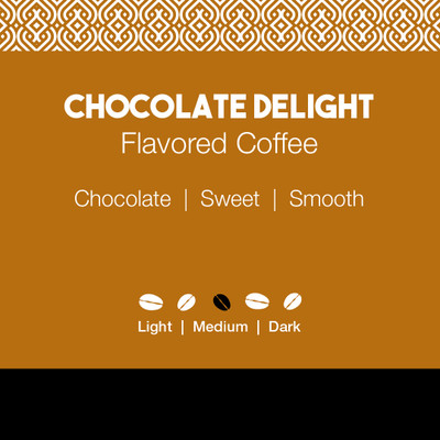 Chocolate Delight Flavored Coffee