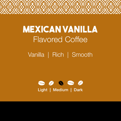 Mexican Vanilla Flavored Coffee