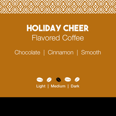 Holiday Cheer Flavored Coffee
