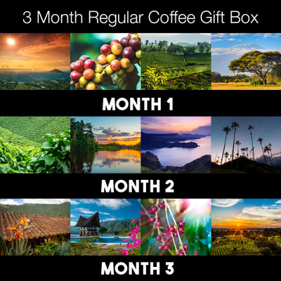 3 months flavor- Joes Coffee Box