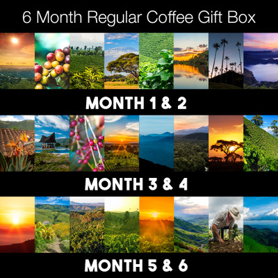6 months - Regular Joes Original Coffee Box