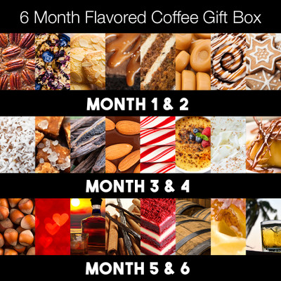 Joe's 6-month Flavored Coffee Gift Box