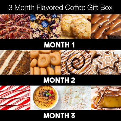 Joe's 3-month Flavored Coffee Gift Box
