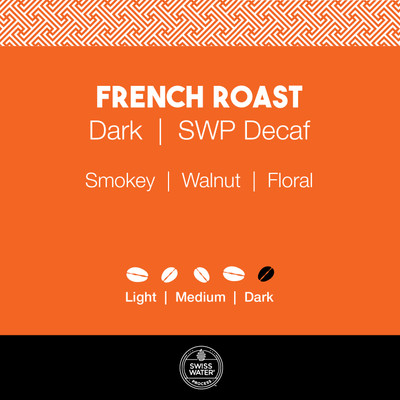 French Roast Coffee – SWP Decaf