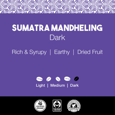 Sumatra Mandheling Coffee – Dark Roast