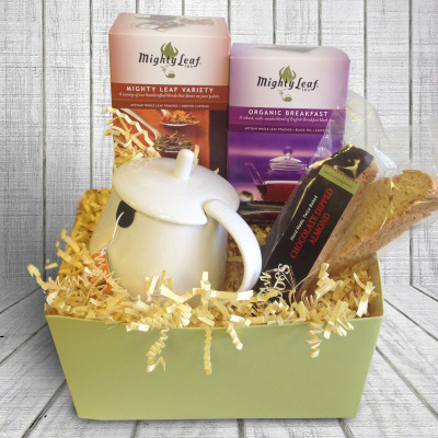 Tea Lovers Gift Box – White