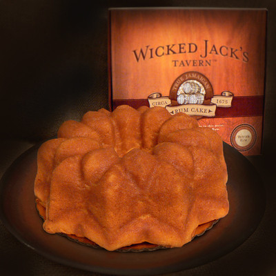 Wicked Jack's Butter Rum Cake - serves 16