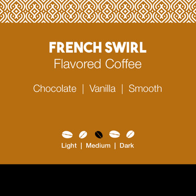 French Swirl Flavored Coffee