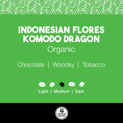 Indonesian Flores Komodo Dragon Coffee