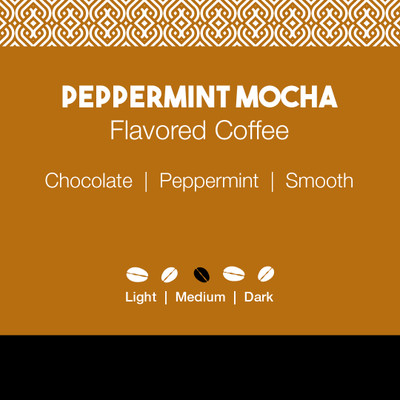Peppermint Mocha Flavored Coffee