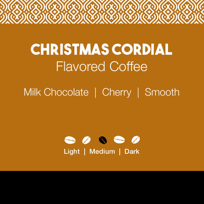 Christmas Cordial Flavored Coffee
